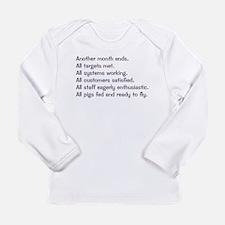 All Targets Met Long Sleeve Infant T-Shirt