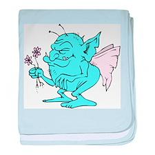 Ugly Blue Fairy Infant Blanket