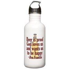Beer is Proof Water Bottle