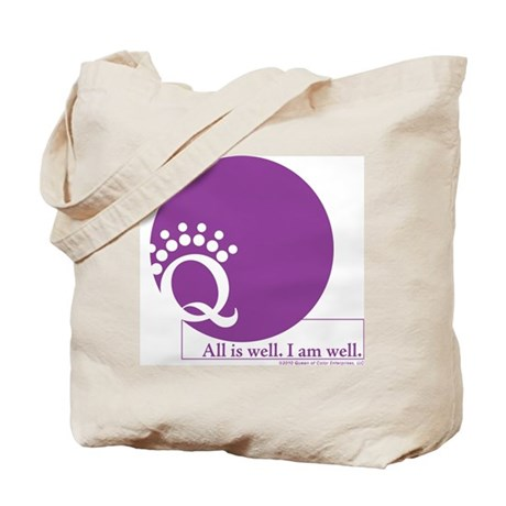 Be Well with Color Tote Bag