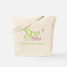 Spa Diva 2 Tote Bag