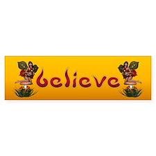 believe 3 Bumper Bumper Sticker