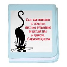 Cats Teach Us Infant Blanket
