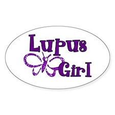 Lupus Girl Decal
