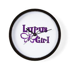 Lupus Girl Wall Clock