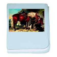 Palomino Horse Infant Blanket