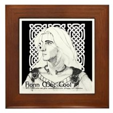 Fionn mac Cool Framed Tile