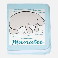 Manatee Infant Blanket