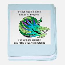 Dragon Crunchies Infant Blanket