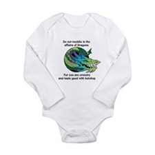 Dragon Crunchies Long Sleeve Infant Bodysuit