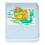 Kitty Mermaid Infant Blanket
