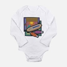 Weaving Long Sleeve Infant Bodysuit