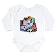Sewing Long Sleeve Infant Bodysuit