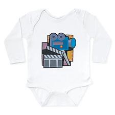 Film Making Long Sleeve Infant Bodysuit