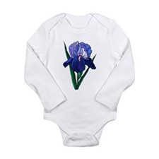 Stained Glass Iris Baby Suit