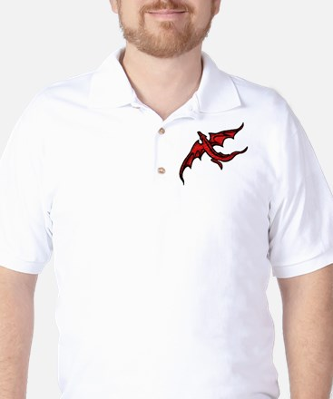 red fly Golf Shirt