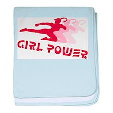 Martial Arts Girl Power Infant Blanket