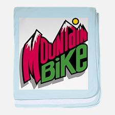 Mountain Bike 2 Infant Blanket