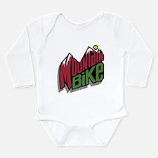 Mountain Bike 2 Long Sleeve Infant Bodysuit