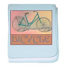 Bicycle Infant Blanket