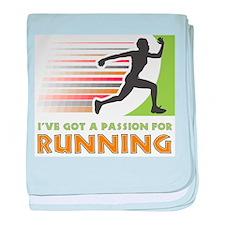 Passion for Running Infant Blanket