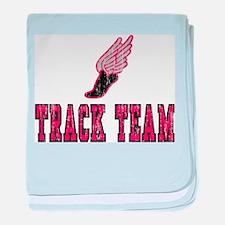 Track Team Infant Blanket