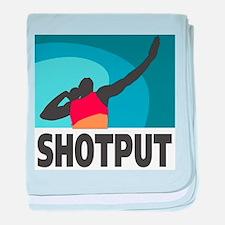 Shotput Infant Blanket