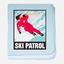 Ski Patrol Infant Blanket