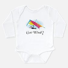 Got Wind? Long Sleeve Infant Bodysuit