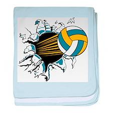 Volleyball Burst Infant Blanket