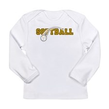 Softball Long Sleeve Infant T-Shirt