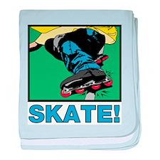 Inline Skate! Infant Blanket