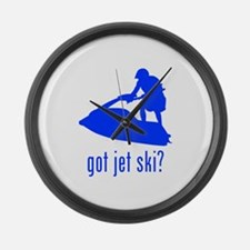 Jet Ski Large Wall Clock