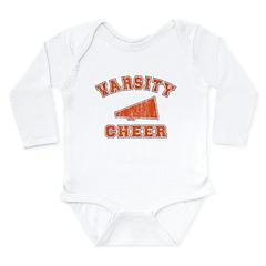 Varsity Cheer 2 Long Sleeve Infant Bodysuit