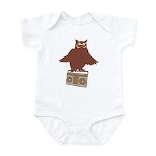 Radio Owl Infant Bodysuit