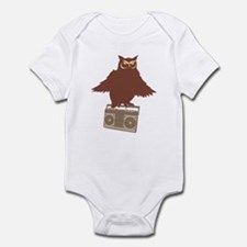 Radio Owl Infant Bodysuit