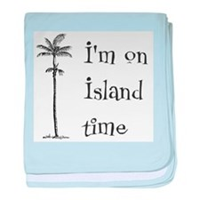 Island Time Infant Blanket