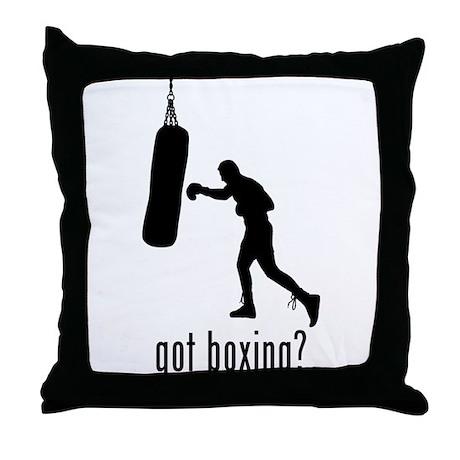 Boxing 3 Throw Pillow