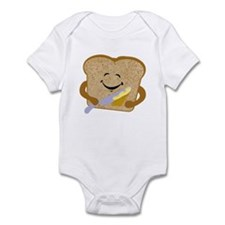 Buttered Toast Infant Bodysuit