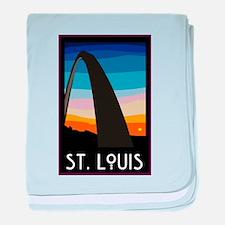St. Louis Arch Infant Blanket