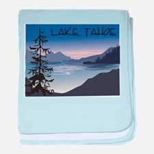Lake Tahoe Infant Blanket