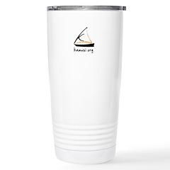 kamusi.org Stainless Steel Travel Mug
