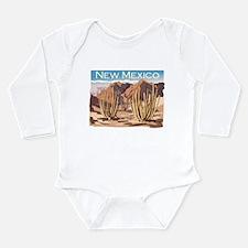 New Mexico Desert Long Sleeve Infant Bodysuit