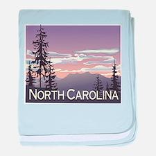 North Carolina Mountains Infant Blanket