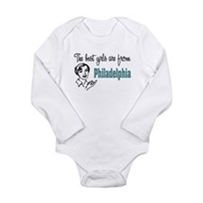 Best Girls Philadelphia Long Sleeve Infant Bodysui