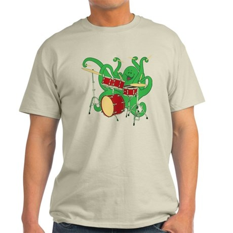 Octopus Drummer Light T-Shirt