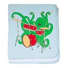 Octopus Drummer Infant Blanket