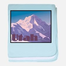 Utah Mountains Infant Blanket