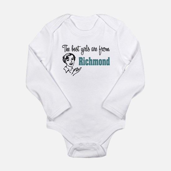 Best Girls Richmond Long Sleeve Infant Bodysuit