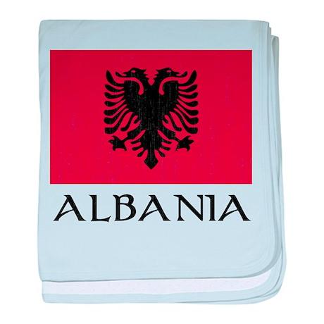 Albania Flag Infant Blanket
